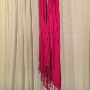 Accessories - Hot pink scarf